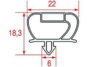SNAP-IN GASKET 730x710 mm