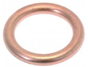 ROUND COPPER GASKET o 19x13x2.7 mm