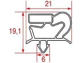 SNAP-IN GASKET 595x465 mm