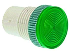 GREEN LAMP RECEPTACLE