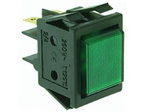 GREEN INDICATOR LIGHT 220V