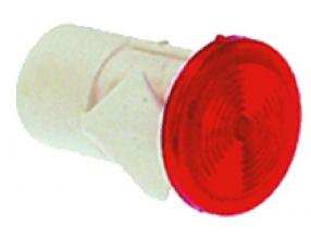 RED LAMP RECEPTACLE