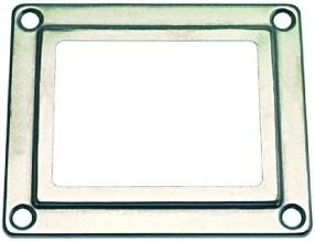 FRAME FOR OVEN LAMP RECEPTACLE