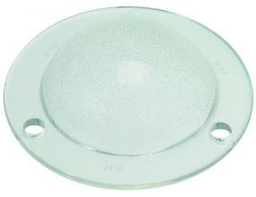 LAMP RECEPTACLE HARDENED GLASS o 87 mm