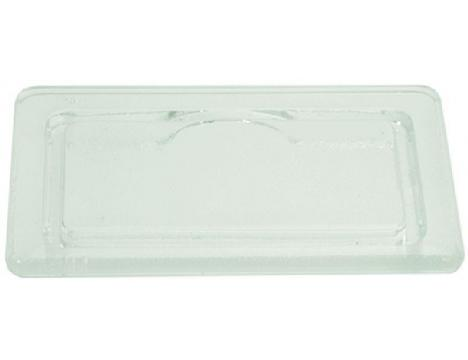 GLASS FOR OVEN LAMP RECEPTACLE