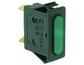 GREEN INDICATOR LAMP 230V