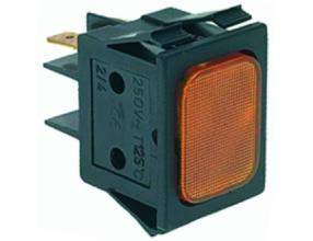 YELLOW INDICATOR LAMP 230V