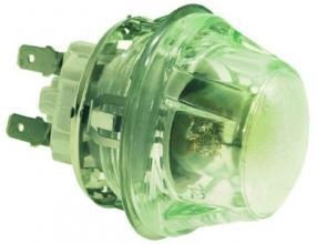 LAMP RECEPTACLE W/LAMP E14 15W 230V