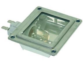 LAMP RECEPTACLE W/LAMP 25W 230V