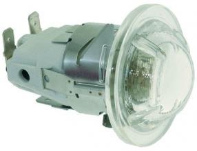 LAMP RECEPTACLE W/LAMP G9 25W 230V