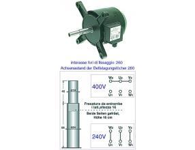 SILNIK 1005/A 0.33HP 220/380V 50Hz