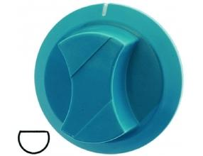 LIGHT BLUE KNOB o 55 mm