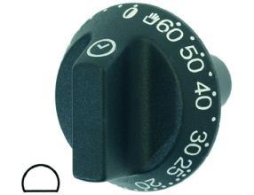 BLACK KNOB o 54 mm 0-60 C