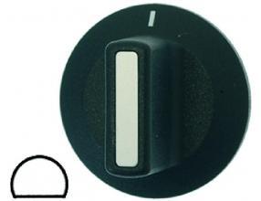 BLACK KNOB o 42 mm