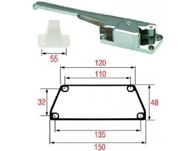 RIGHTHAND DOOR HANDLE F/COLD ROOM 300 mm