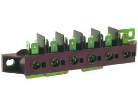 6-POLE TERMINAL BLOCK FV122/B 40A 600V