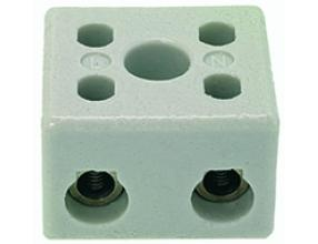 2-POLE CERAMIC TERMINAL BLOCK