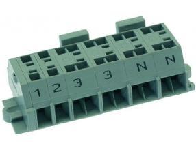 5-POLE TERMINAL BLOCK 15A 300V