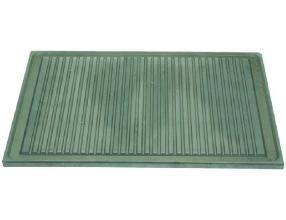 RIBBED PLATE 425x375 mm