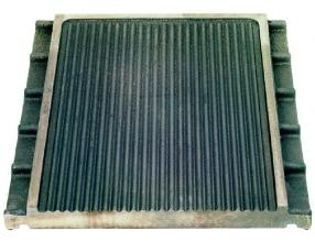 RIBBED PLATE 430x395 mm