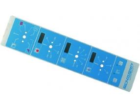 LIGHT BLUE ELECTROMECHANICAL PLATE
