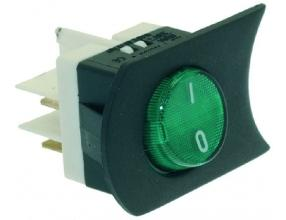 GREEN BIPOLAR SWITCH 16A 250V