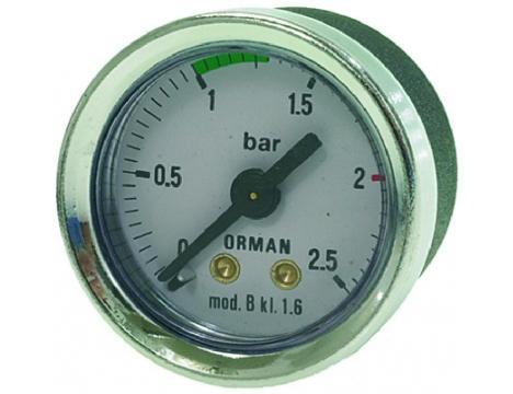 BOILER PRESSURE GAUGE o 41 mm 0? 2.5 bar