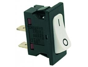 WHITE SINGLE-POLE SWITCH 16A 250V