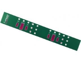 GREEN ELECTRONIC PLATE 760x108 mm