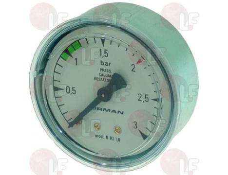 BOILER PRESSURE GAUGE o 62 mm 0? 3 bar