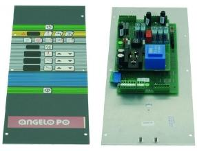 PUSH-BUTTON ELECTRONIC BOARD 480x180 mm