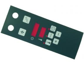 BLACK ELECTRONIC PLATE