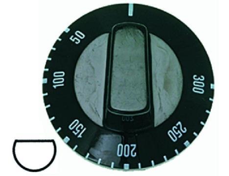 BLACK KNOB o 50 mm 50-300 C