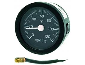 BLACK TELETHERMOMETER o 52 mm 0-120 C