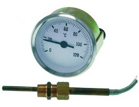 TELETHERMOMETER WHITE o 60 mm 0-120 C