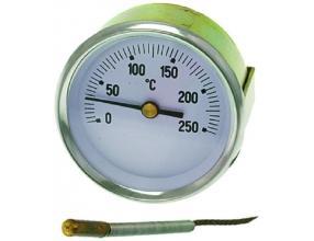 TELETHERMOMETER WHITE o 60 mm 0-250 C