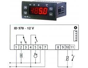 TERMOSTAT ID970 12Vac/dc 15/8A NTC/PTC