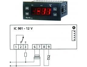 TERMOSTAT IC901 12Vac/dc 15A NTC/PTC