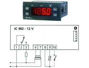 STEROWNIK CHŁODNICZY IC902 12Vac/dc NTC/