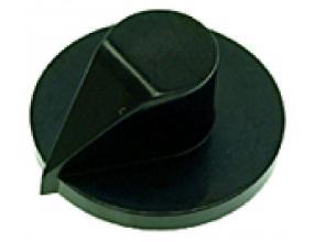 BLACK KNOB ABS o 33 mm
