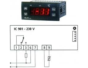 TERMOSTAT IC901 230V 15A PTC/NTC