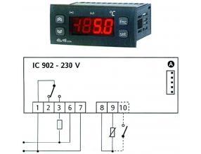 TERMOSTAT IC902 230V 15A PTC/NTC