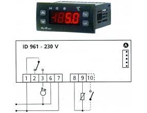 TERMOSTAT ID961 230V 15A NTC/PTC