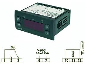 TERMOSTAT IC912LX/H PT100