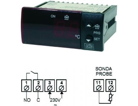 TERMOSTAT AKO D14123 230V NTC
