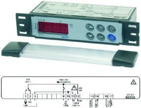 CONTROLLER XW20L 230V NTC/PTC