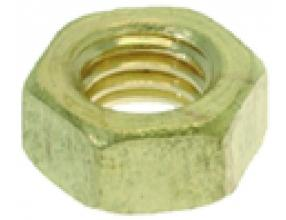 BRASS NUT M5 - 100 PCS