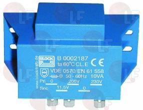 TRANSFORMATOR 230V/11.5V 10VA