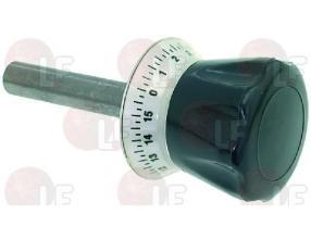 BLACK TIMER KNOB o 18x155 mm