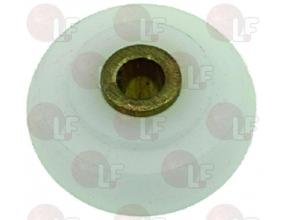 TEFLON CARRIAGE WHEEL o 29-6x13 mm